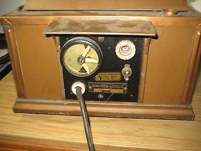 Rare Antique Copper Water Bath Chicago Surgical&electrical Medical Steampunk