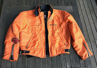 Harley Davidson 'Burning Orange' Jacke Ltd.Ed. Jacket  - Size Small