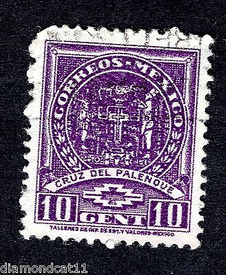 Mexico 10c Purple Unknown stamp GOOD Used R27572