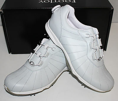 FootJoy emBODY BOA Womens Golf Shoes - Arctic Light Gray - #96107