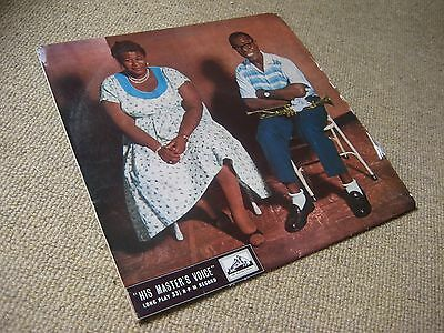 Ella Fitzgerald and Louis Armstrong 1st Pressing on UK HMV LP 1M/1M FIRST 2,000