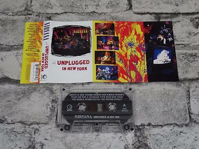 NIRVANA - Unplugged In New York / Cassette Album Tape / MTV / 3126