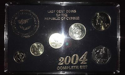 Last Cent Coins of the Republic of Cyprus