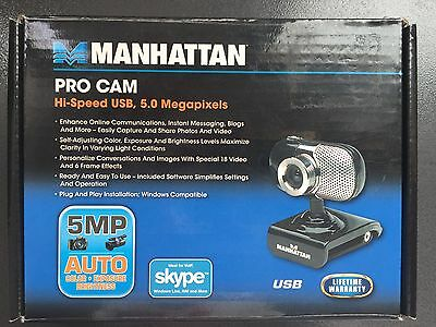 Manhattan PRO CAM 5MP #460491 Hi-Speed USB