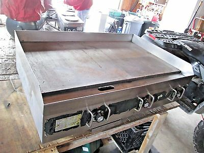 Commercial Star 220 Electric Flat Top 36 Inch Grill Used Local Pick Up Only