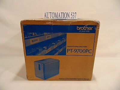 New Brother Pt-9700Pc Desktop Thermal Barcode And Identification Label Printer