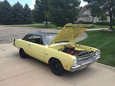 1969 Dodge Dart Swinger V8 Classic Collector Coupe Car 1969 Dodge Dart Swinger