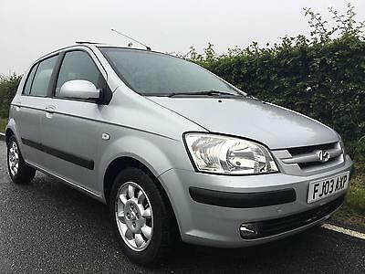 Hyundai Getz 1.6 CDX **ONLY 77,000 MILES FROM NEW**