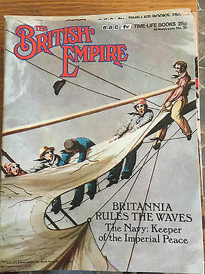 THE BRITISH EMPIRE Magazine - 1970s Publication - Issue 36 The Navy
