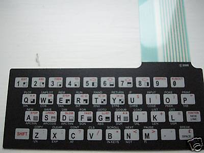 Brand New Sinclair ZX81 Keyboard Membrane (inc keyboard) by RWAP Software