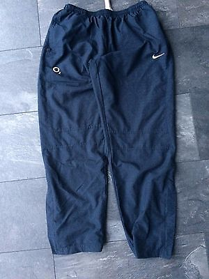 England Rugby Player Issue  NIke Tracksuit Bottoms (XL)