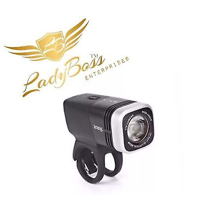 KNOG BLINDER ARC 1.7 USB RECHARGEABLE BIKE LIGHT BlKSILVER 170 Lumens LADYBOSS