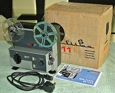 SILMA S111 8mm SILENT PROJECTOR