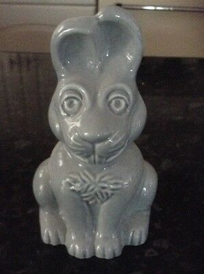 Wade Grey Rabbit money box with stopper