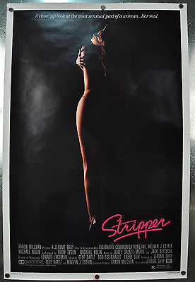 Stripper Original SS One Sheet Movie Poster 1985 27 x 40 Rolled