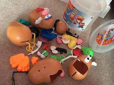 Mr and Mrs Potato Head Bundle with Accessories Toy Story