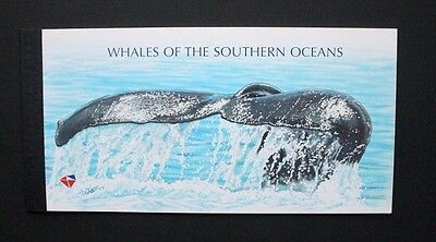 SOUTH AFRICA 1998 Whales of Southern Ocean. BOOKLET. Mint Never Hinged.