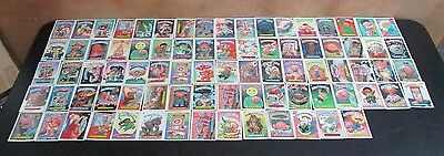 82 Vintage 1987 Topps Garbage Pail Kids Cards Rare Cards In Great Condition Card