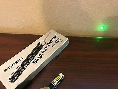 Orion Skyline Deluxe Green Laser Pointer #5673 - Great for pointing out stars