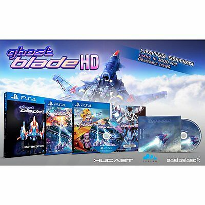 PS4: Ghost Blade HD [Limited Edition] | Sony Playstation | PRE-ORDER | Shmup
