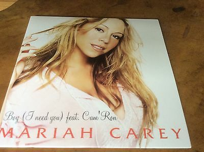 Mariah Carey - Boy (I Need You) - Mexican 2trk Promo Only Cd Single.Mega Rare.
