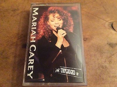 MARIAH CAREY - MTV Unplugged EP - Cassette Album - Extremely Rare