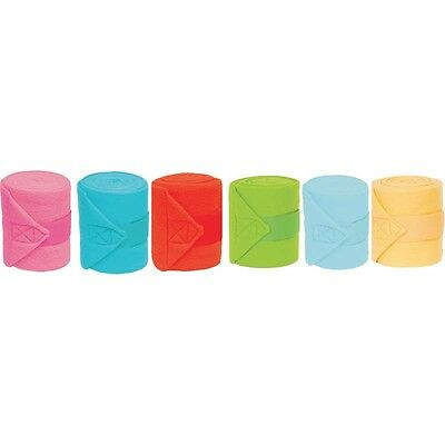 Heavy Duty Polo Bandages - PINK