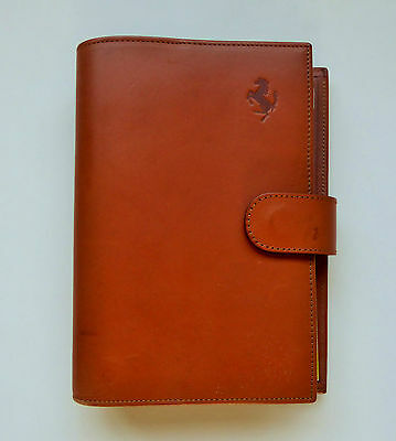 1993 FERRARI LEATHER FOLIO/ORGANISER by SCHEDONI