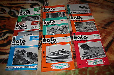 Lot De 9 Loco Revue..trains Miniatures..nuremberg..1968..wagons..reseau..ho..n