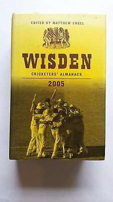 Wisden Cricketers' Almanack 2005 HB with jacket. Very good condition