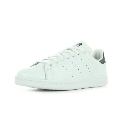 20a48a3eba4 Chaussures Baskets adidas homme Stan Smith taille Blanc Blanche Cuir Lacets