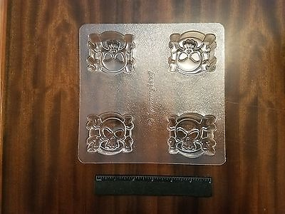 Spinning Leaf JOLLY ROGERS  Sandwich Cookie Molds