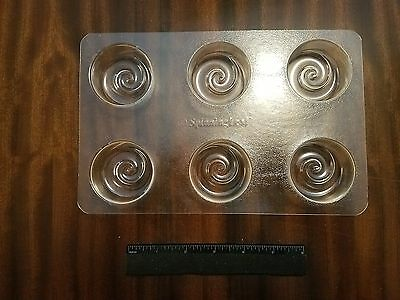 Spinning Leaf KORU  Sandwich Cookie Molds