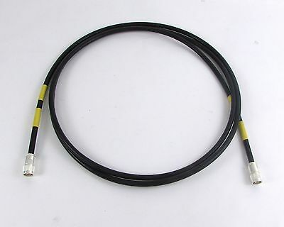 11 Foot Long Cable Assembly SM-F-796241-9 Silver Connectors Type N Plug
