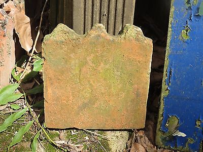 Original Reclaimed Victorian 3-Scalloped Clay Garden Edging Tiles * 50