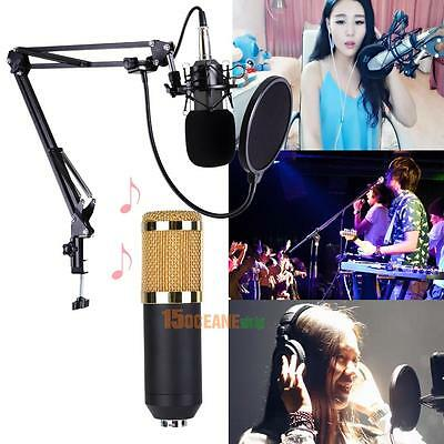 Set BM-800 Studio Live Streaming Broadcasting Recording Condenser KTV Microphone