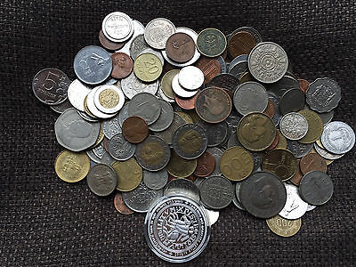 Collection of Old and New Mixed World Coins Job Lot