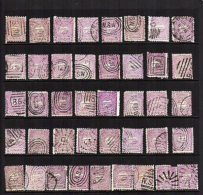 New South Wales, 41x copies of #77    CV$44.00+