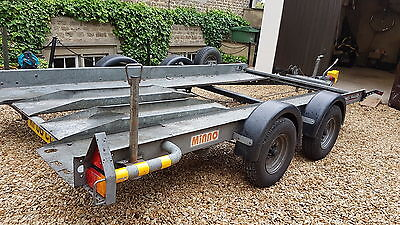 Brian James Minno Car Transporter Trailer - Twin Axle - ideal for kit/classic