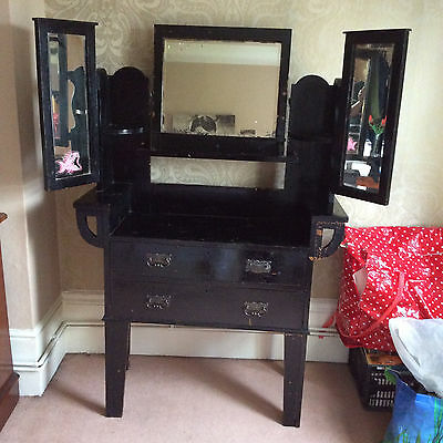 Edwardian Dressing Table with mirrors