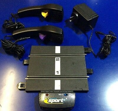 Scalextric Sport Power Base, Adapter and Controllers