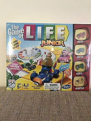 The Game of Life Junior Game Board Games, New