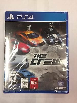 Playstation 4 Ps4 The Crew ***brand New Factory Sealed***
