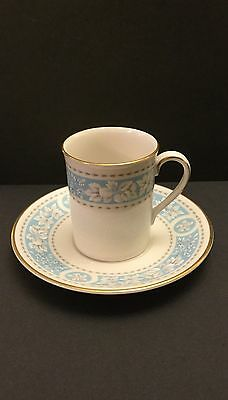 "Royal Doulton ""Hampton Court"" Bone China Espresso Coffee Cup and Saucer"