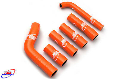 AS3 PERFORMANCE SILICONE RADIATOR HOSES to fit KTM 250 300 EXC 2003-2007