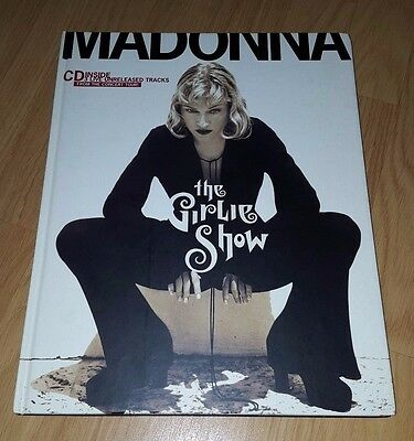 Madonna The Girlie Show Hb Book With Exclusive Live Cd First Edition Near Mint