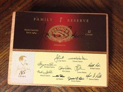 Padron Family Reserve No.45 Natural Empty Cigar Box Jewelry box Hide A Box