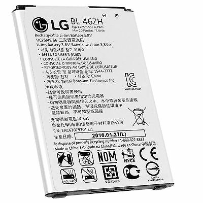 LG BL-46ZH OEM Original Battery for K7 MS330 LS675 Tribute 5 2125mAh