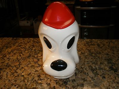 Mccoy Pottery (Rare)  Clyde Dalmation Cookie Jar 1974