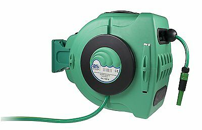as - Schwabe 12616 Automatic Water Hose Drum for Gardens / Garages / Agriculture